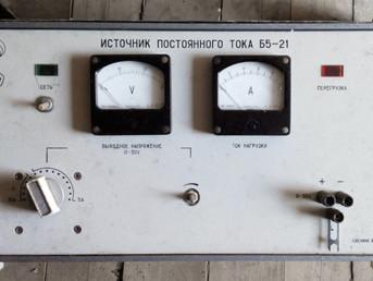 Поверка источников питания постоянного тока